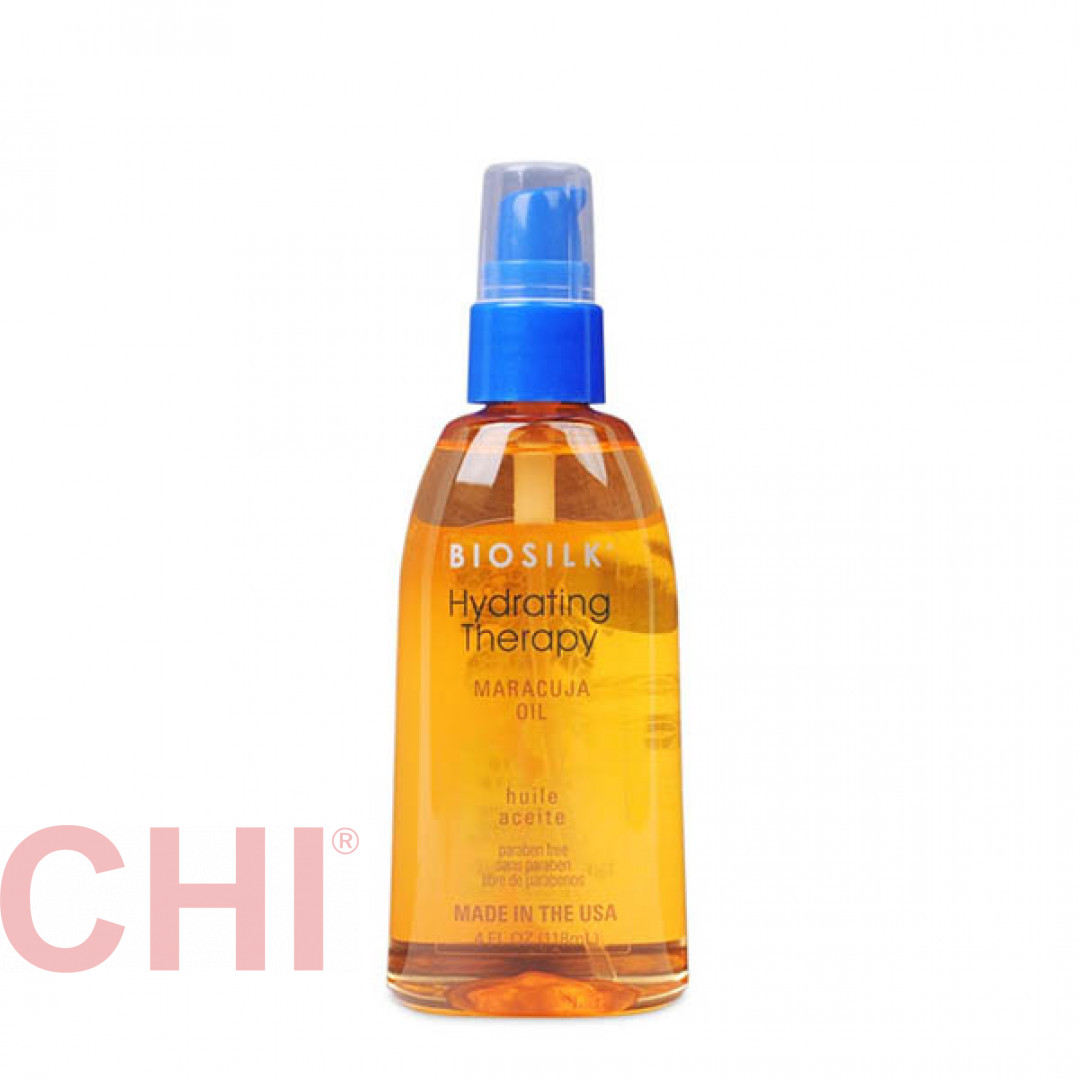 Масло маракуйи для волос увлажняющее Biosilk Hydrating  Maracuja Oil 118 мл BSHOM4