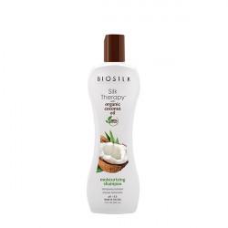 Шампунь увлажняющий Biosilk Silk Therapy Organic Coconut Oil Moisturizing Shampoo 355 мл BSTOCS12-2