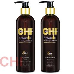 Набор Chi Argan Oil Шампунь и Кондиционер 2x340 мл CHIAS12, CHIAC12