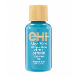 Масло интенсивно увлажняющее для вьющихся волос Chi Aloe Vera with Agava Nectar Aloe Vera Oil 15 мл CHIAVO05