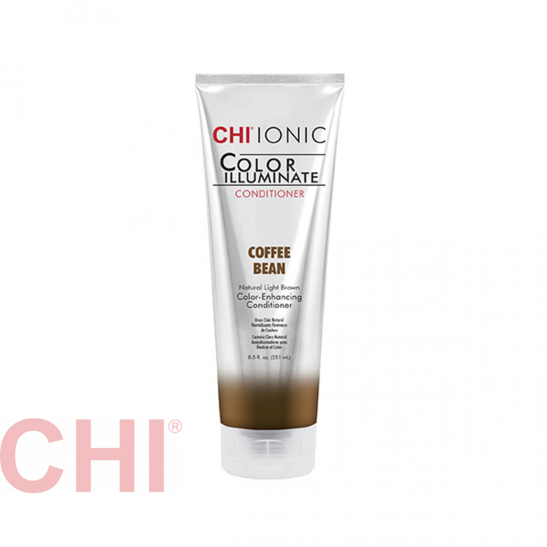 Кондиционер тонирующий Chi Ionic Color Illuminate Conditioner Coffee Bean Кофейное зерно 251 мл CHICICB10