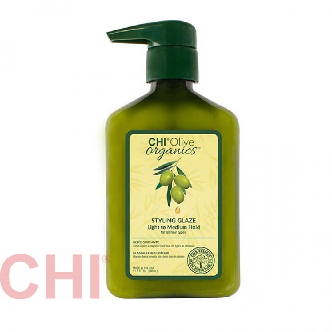 Гель стайлинг Chi Olive Organics Styling Glaze 340 мл CHIOG12