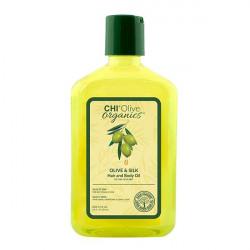 Масло для волос и тела Chi Olive Organics Olive & Silk Hair & Body Oil 251 мл CHIOHB8