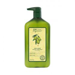 Шампунь и гель для душа Chi Olive Organics Shampoo Body Wash Hair & Body 710 мл CHIOSB25