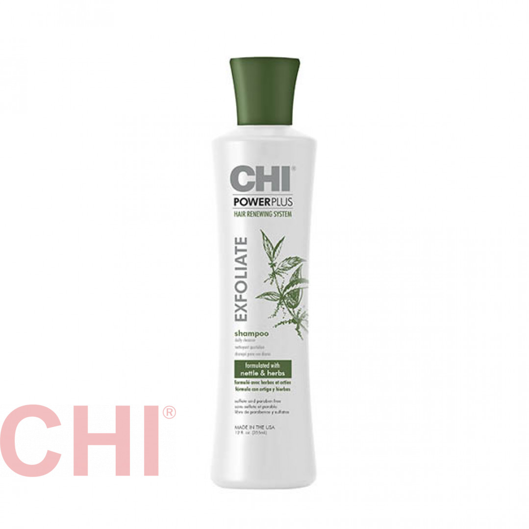 Шампунь отшелушивающий Chi Power Plus Exfoliate Shampoo 355 мл CHIPPS12