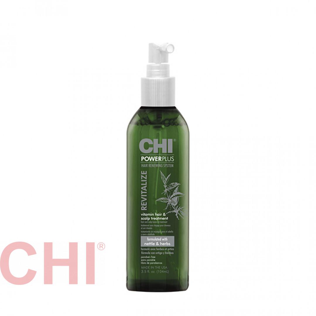 Средство витаминное восстанавливающее Chi Power Plus Revitalize Vitamin Hair & Scalp Treatment104 мл CHIPPT3