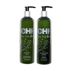 Набор Chi Tea Tree Oil Шампунь и Кондиционер 2x340 мл CHITTS12, CHITTC12