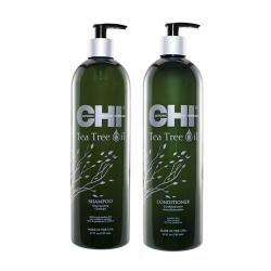 Набор Chi Tea Tree Oil Шампунь и Кондиционер 2x739 мл CHITTS25, CHITTC25