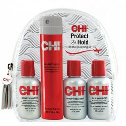Набор дорожный Защита и фиксация Chi Infra Protect&Hold 3x59 мл + 74 гр CHK8395