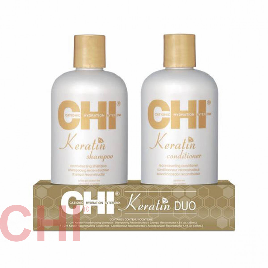Набор Chi Keratin Duo The Gold Treatment 2x355 мл PM8210