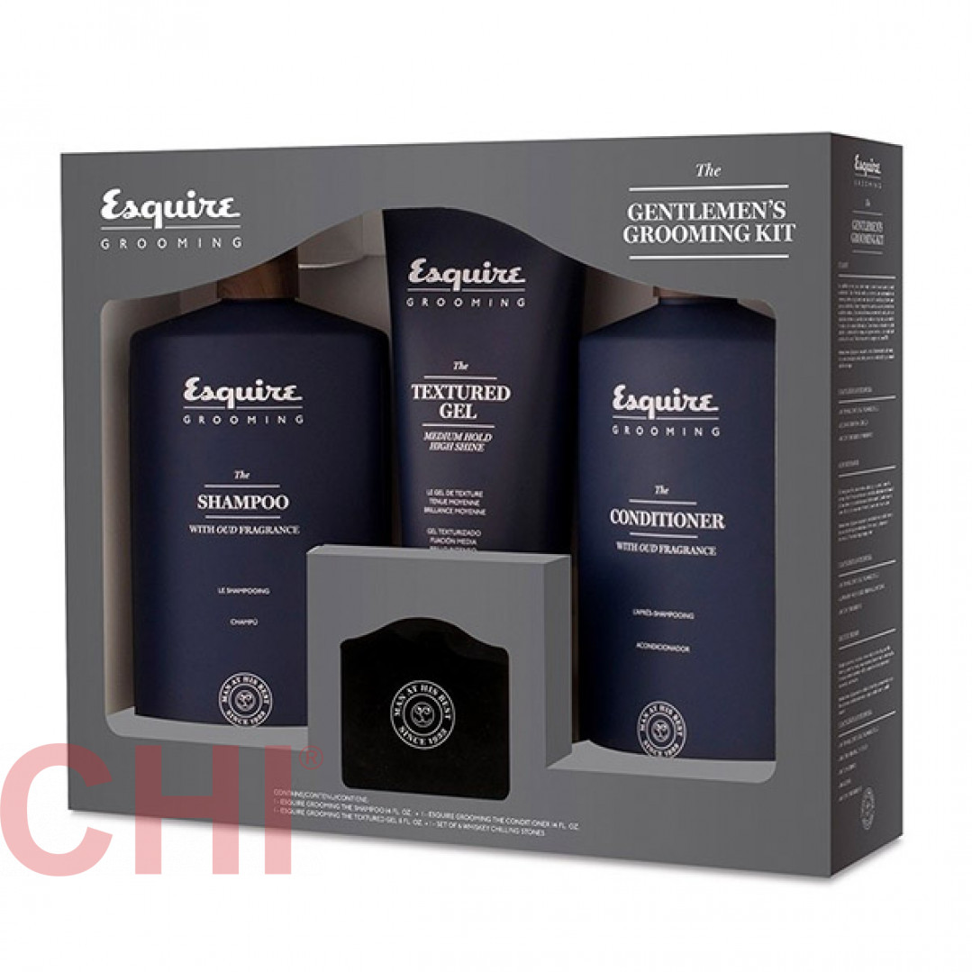 Набор джентльмена Chi Esquire Grooming Gentlemens Grooming Kit PM8386